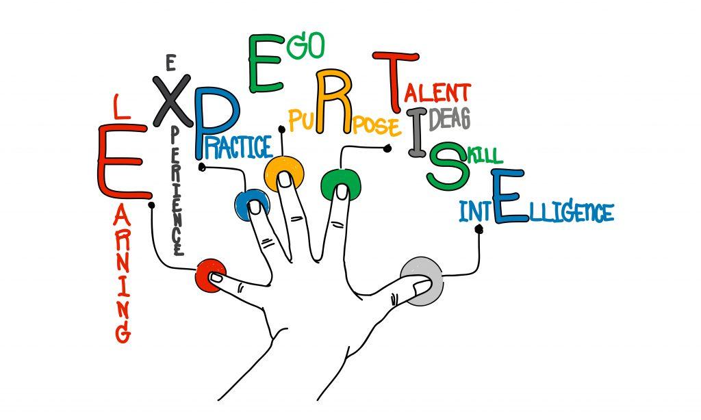 تجربه و تخصص را برای ایجاد شخصیت خلاق پرورش دهید