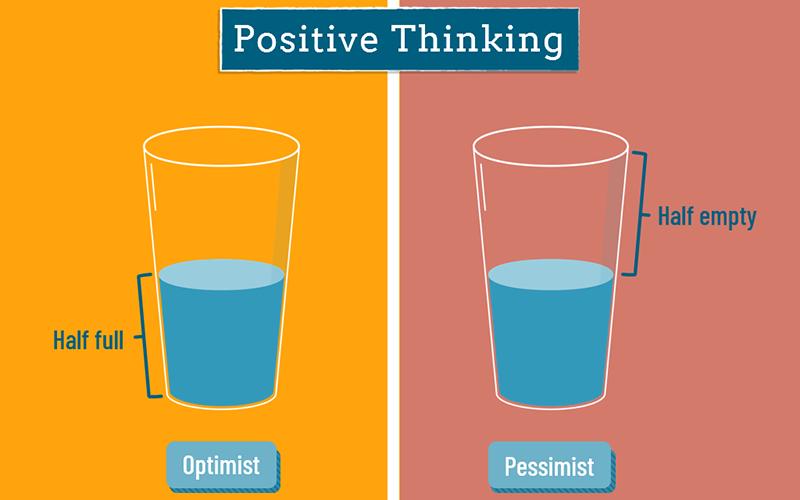 سه تفکر که به من امید، دیدگاه مثبت، آرامش و توانایی میبخشند